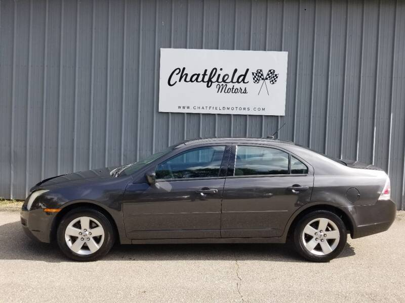 2007 Ford Fusion for sale at Chatfield Motors in Chatfield MN