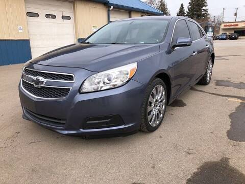 2013 Chevrolet Malibu for sale at CItywide Auto Credit in Oregon OH