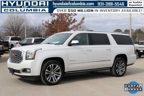 2018 GMC Yukon XL for sale at Hyundai of Columbia Con Alvaro in Columbia TN