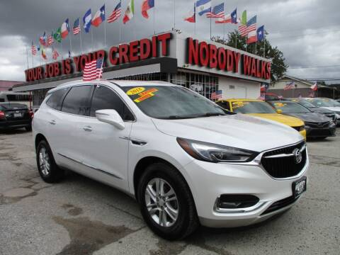 2018 Buick Enclave for sale at Giant Auto Mart 2 in Houston TX