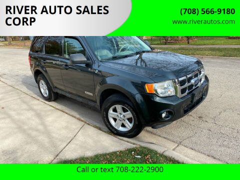 2008 Ford Escape Hybrid for sale at RIVER AUTO SALES CORP in Maywood IL