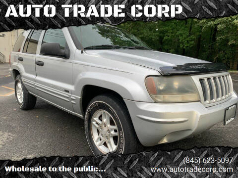2004 Jeep Grand Cherokee for sale at AUTO TRADE CORP in Nanuet NY
