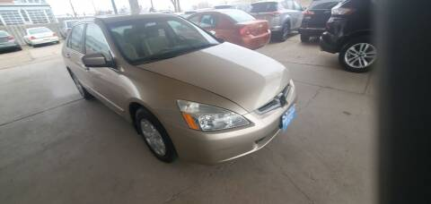 2003 Honda Accord for sale at Divine Auto Sales LLC in Omaha NE
