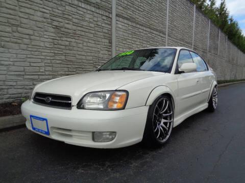 2001 Subaru Legacy for sale at Matthews Motors LLC in Algona WA