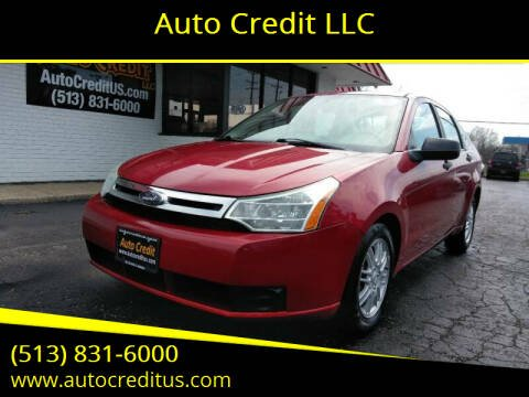 2009 Ford Focus for sale at Auto Credit LLC in Milford OH