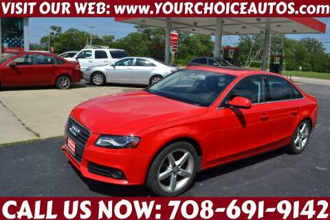 2011 Audi A4 for sale at Your Choice Autos - Crestwood in Crestwood IL