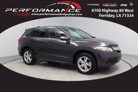 2015 Acura RDX for sale at Auto Group South - Performance Dodge Chrysler Jeep in Ferriday LA