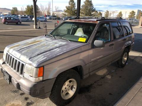 1996 Jeep Grand Cherokee for sale at Auto Bike Sales in Reno NV