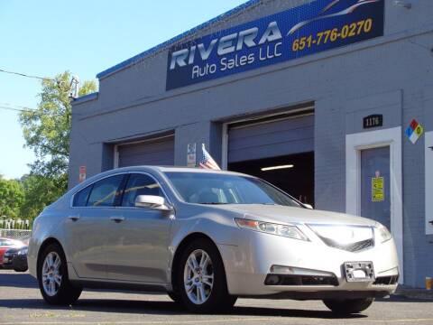2010 Acura TL for sale at Rivera Auto Sales LLC in Saint Paul MN