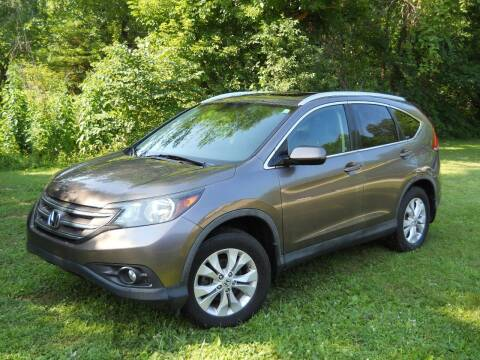 2012 Honda CR-V for sale at BARKER AUTO EXCHANGE in Spencer IN