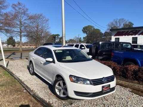 2013 Volkswagen Passat for sale at Beach Auto Brokers in Norfolk VA