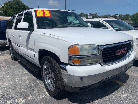 2003 GMC Yukon XL for sale at Petra Auto Sales in Jacksonville FL