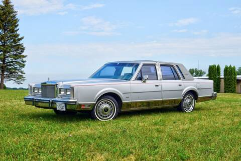 1984 Lincoln Town Car for sale at Hooked On Classics in Watertown MN