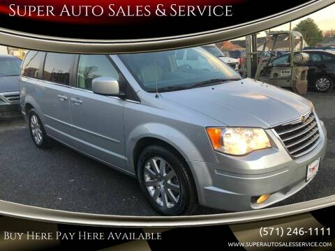 2008 Chrysler Town and Country for sale at Super Auto Sales & Services in Fredericksburg VA