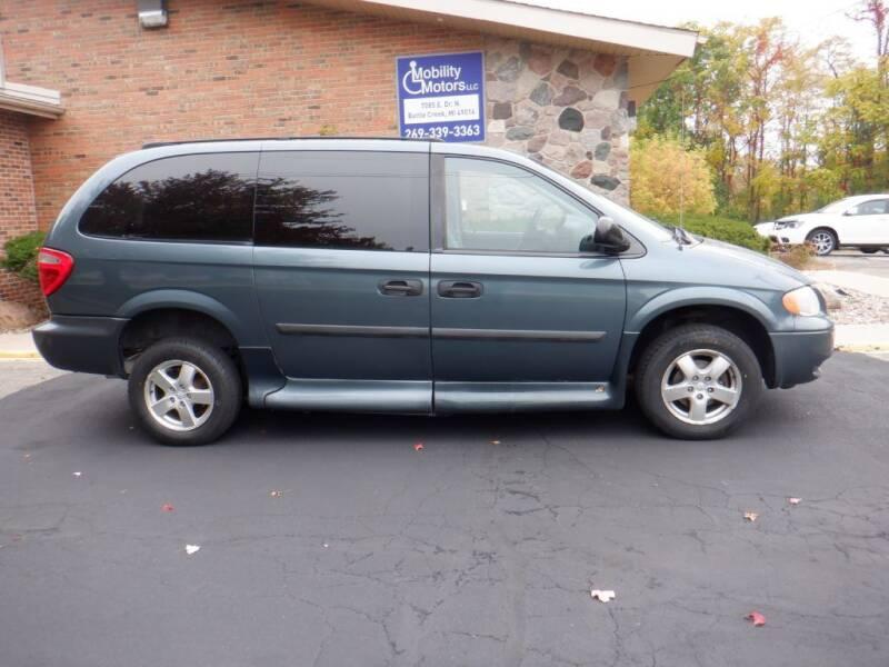 2006 Dodge Grand Caravan for sale at Mobility Motors LLC - A Wheelchair Van in Battle Creek MI