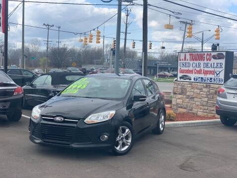 2012 Ford Focus for sale at L.A. Trading Co. Woodhaven in Woodhaven MI
