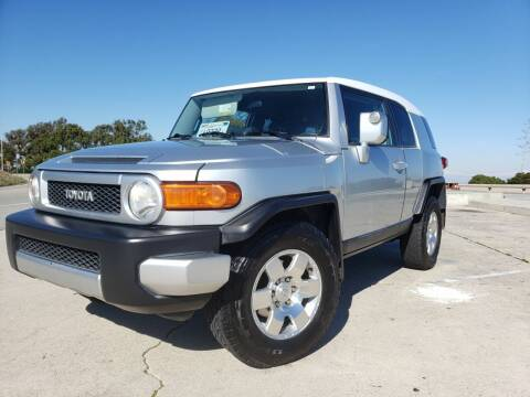 2007 Toyota FJ Cruiser for sale at L.A. Vice Motors in San Pedro CA