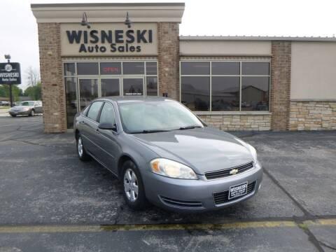 2007 Chevrolet Impala for sale at Wisneski Auto Sales, Inc. in Green Bay WI