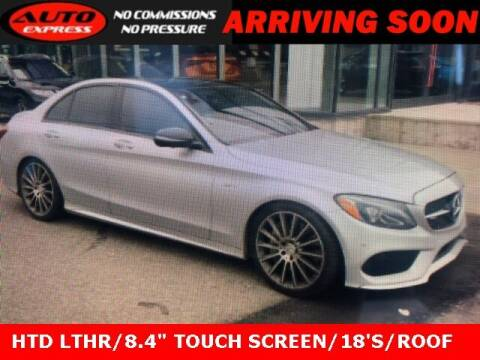 2017 Mercedes-Benz C-Class for sale at Auto Express in Lafayette IN