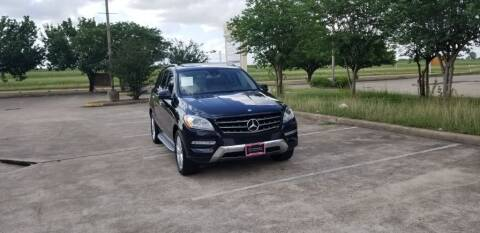 2013 Mercedes-Benz M-Class for sale at America's Auto Financial in Houston TX