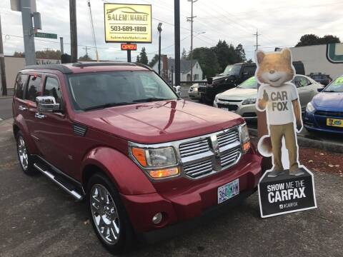 2007 Dodge Nitro for sale at Salem Auto Market in Salem OR