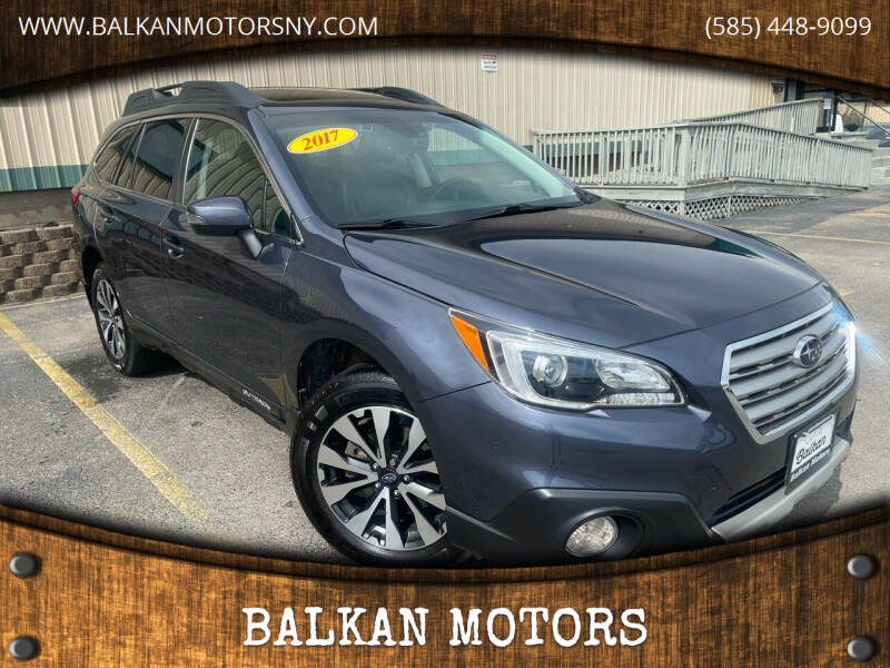 2017 Subaru Outback for sale at BALKAN MOTORS in East Rochester NY