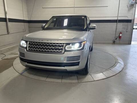 2016 Land Rover Range Rover for sale at Luxury Car Outlet in West Chicago IL