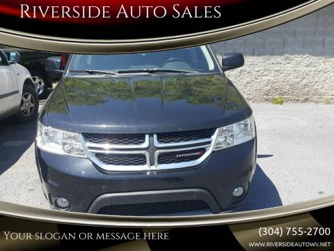 2016 Dodge Journey for sale at Riverside Auto Sales in Saint Albans WV