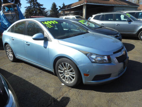 2012 Chevrolet Cruze for sale at Lino's Autos Inc in Vancouver WA