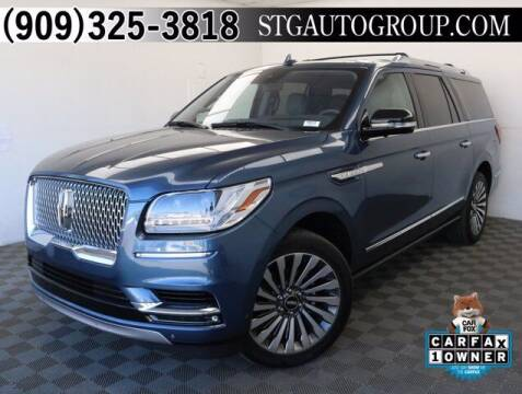 2018 Lincoln Navigator L for sale at STG Auto Group in Montclair CA