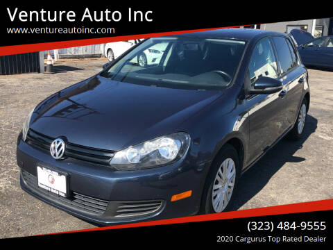 2013 Volkswagen Golf for sale at Venture Auto Inc in South Gate CA