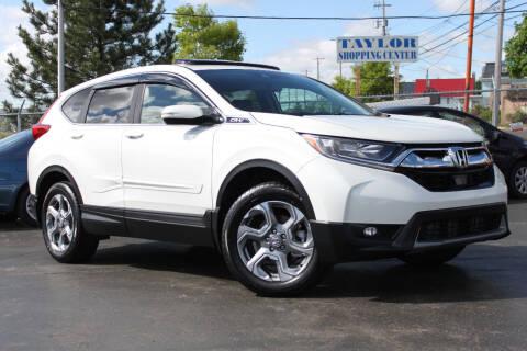 2018 Honda CR-V for sale at Dan Paroby Auto Sales in Scranton PA