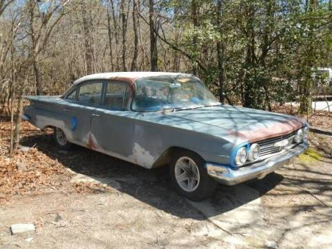 1960 Chevrolet Biscayne for sale at Classic Car Deals in Cadillac MI