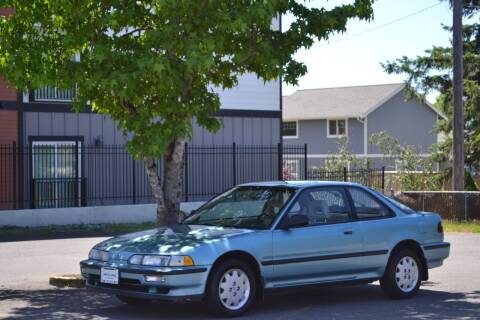 1991 Acura Integra for sale at Skyline Motors Auto Sales in Tacoma WA