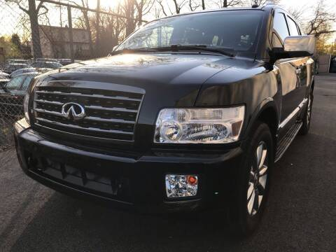 2008 Infiniti QX56 for sale at MAGIC AUTO SALES in Little Ferry NJ