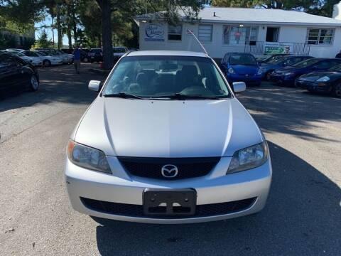 2003 Mazda Protege for sale at MEEK MOTORS in North Chesterfield VA