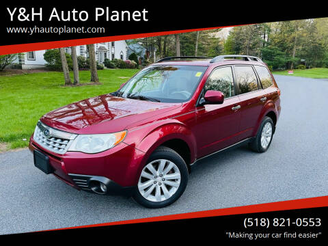 2011 Subaru Forester for sale at Y&H Auto Planet in West Sand Lake NY