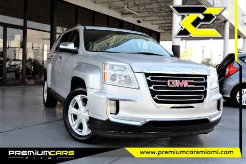 2016 GMC Terrain for sale at Premium Cars of Miami in Miami FL