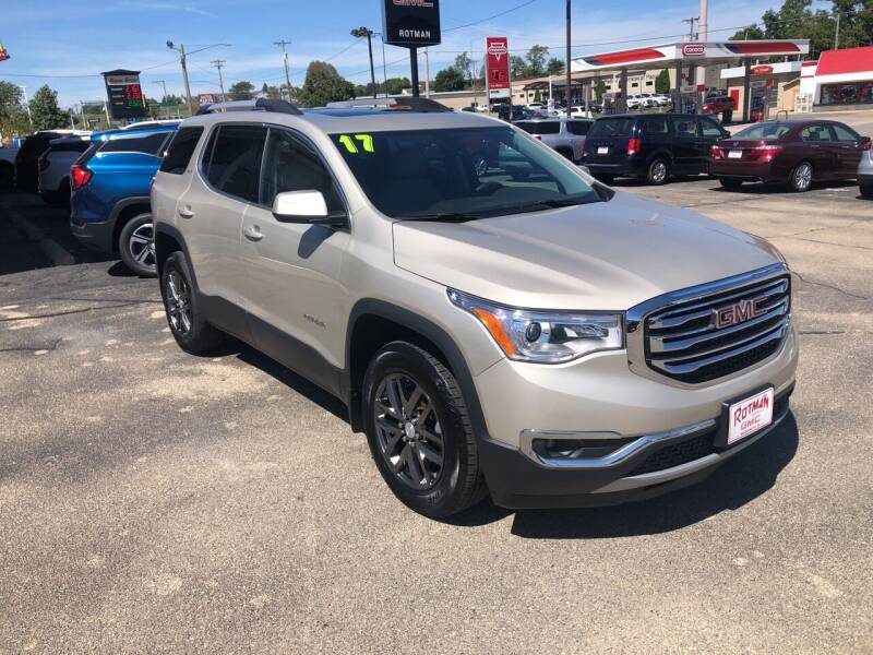 2017 GMC Acadia for sale at ROTMAN MOTOR CO in Maquoketa IA