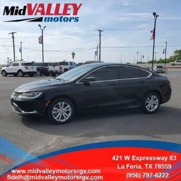 2015 Chrysler 200 for sale at Mid Valley Motors in La Feria TX