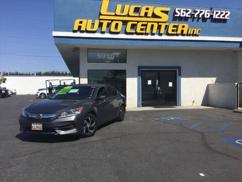 2016 Honda Accord for sale at Lucas Auto Center in South Gate CA