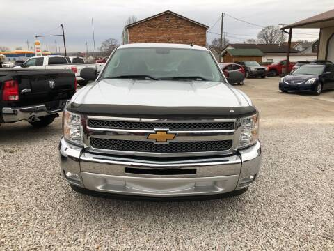 2013 Chevrolet Silverado 1500 for sale at ADKINS PRE OWNED CARS LLC in Kenova WV
