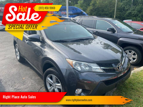 2013 Toyota RAV4 for sale at Right Place Auto Sales in Indianapolis IN