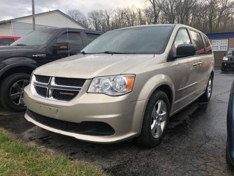 2014 Dodge Grand Caravan for sale at Instant Auto Sales in Chillicothe OH