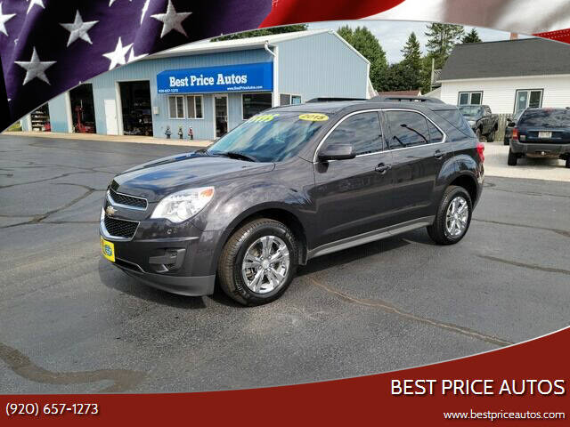 2015 Chevrolet Equinox for sale at Best Price Autos in Two Rivers WI