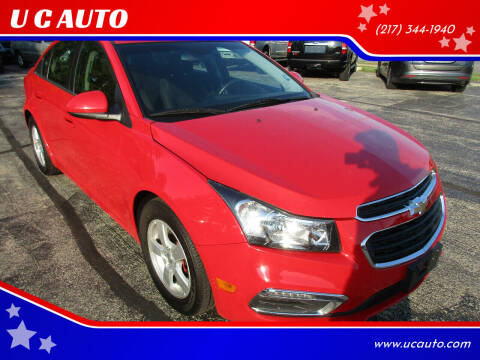 2015 Chevrolet Cruze for sale at U C AUTO in Urbana IL