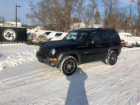 2003 Jeep Liberty for sale at Station 45 Auto Sales Inc in Allendale MI