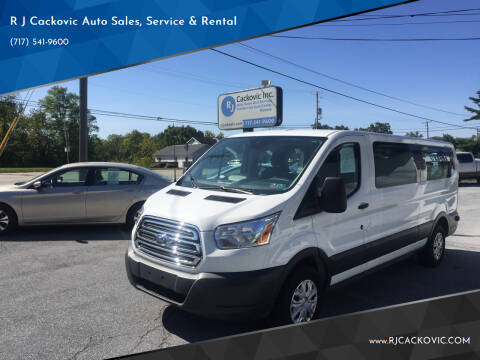 2018 Ford Transit Passenger for sale at R J Cackovic Auto Sales, Service & Rental in Harrisburg PA