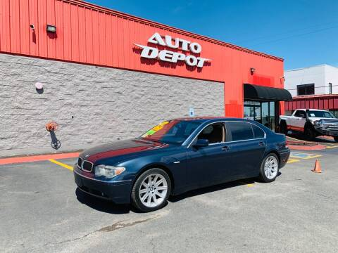 2002 BMW 7 Series for sale at Auto Depot - Madison in Madison TN