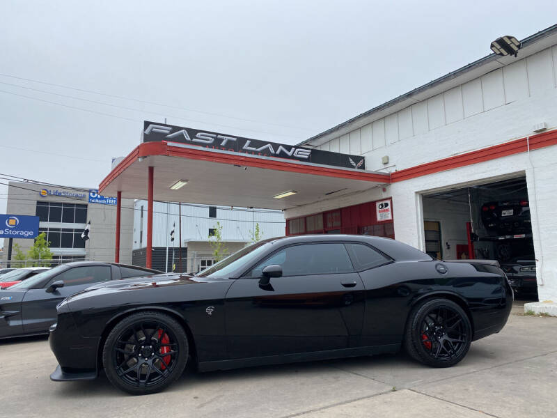 2016 Dodge Challenger for sale at FAST LANE AUTO SALES in San Antonio TX